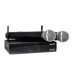 Lexsen XSL-502 Microfone sem Fio UHF de dois canais